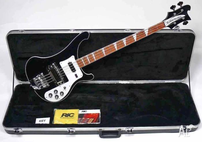 Rickenbacker 4003 Bass Guitar-NEW-2011 Model + Ric case