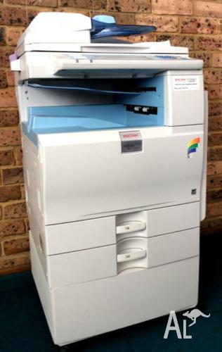 Ricoh Printer AFICIO MP C2050 A4 & A3 + 5 Genuine Ricoh