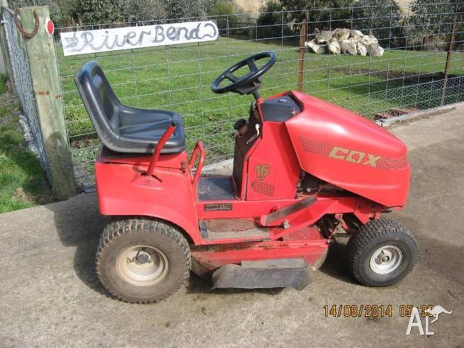 cox lawn boss 16.5 hp manual