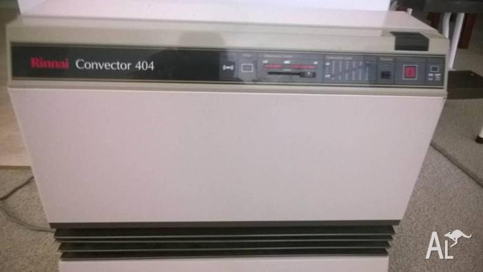 Rinnai Convector 404 gas heater