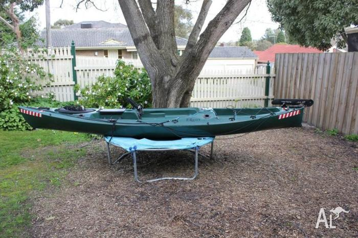 Riot Escape 12 Angler fishing kayak for Sale in BOX HILL