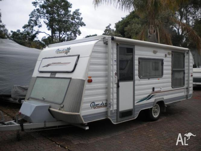 Roadstar Voyager 2000 2001 17ft Pop Top Caravan For Sale