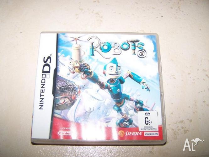 Robots nintendo DS game