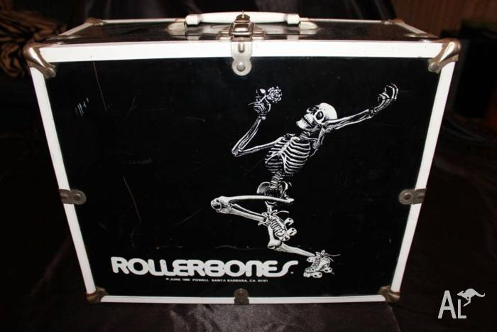 Roller Derby Roller Skate Rollerskate Box Carry Roller