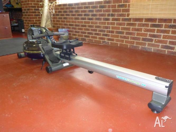 Rowing machine (water rower) - First Degree Trident