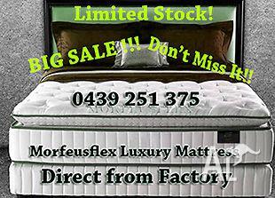 RRP $5000, Spinal Pedic Pillow Top Latex Mattress