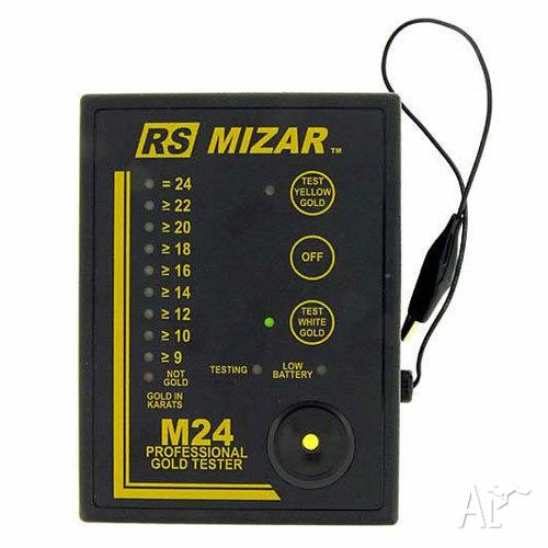 New Electronic Gold Tester : Rs mizar m electronic gold tester to karat