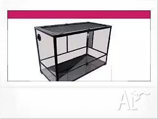 RTF-600H Terrarium Glass (hinged Doors)