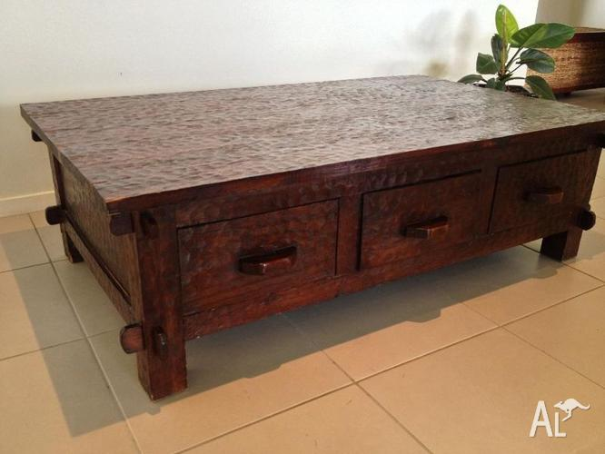 Timber Coffee Table Des Coffetable