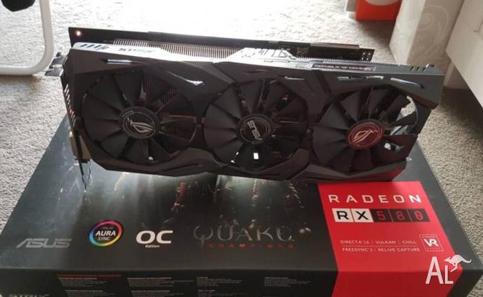 RX 580 8GB - Strix OC Gaming
