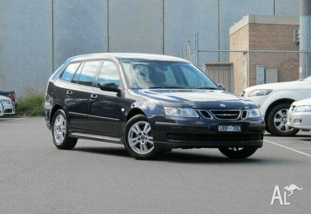 saab 9 3 linear sportcombi my06 2006 for sale in footscray. Black Bedroom Furniture Sets. Home Design Ideas