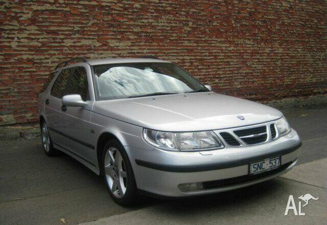 saab 9 5 linear sportestate my2003 2003 for sale in footscray victoria classified. Black Bedroom Furniture Sets. Home Design Ideas