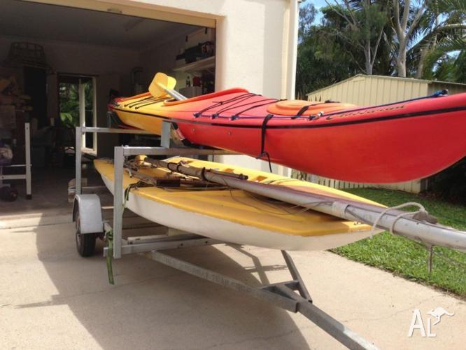 Sailing Dinghy and Sea Kayak