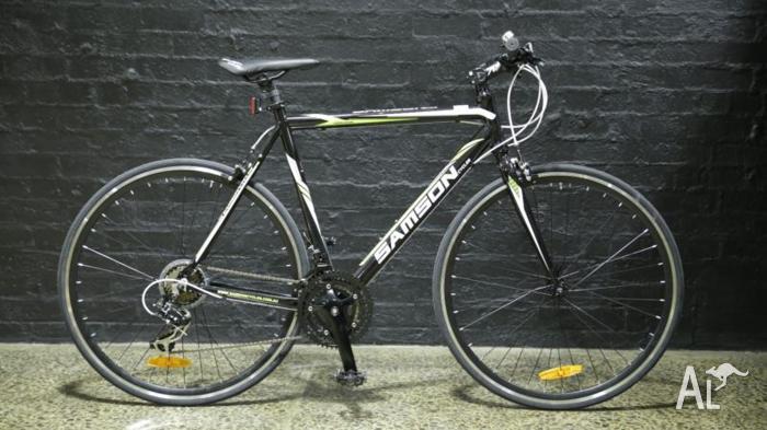 SAMSON CYCLES URBAN-7 15/16 21-Speed FLAT BAR ROAD BIKE