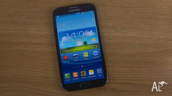 Samsung Galaxy Note II 4G LTE Black Unlocked Mint