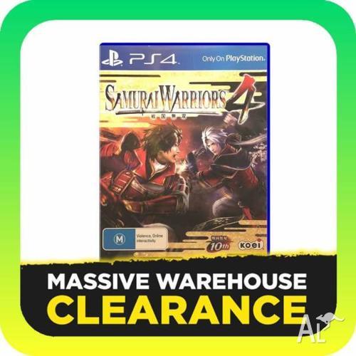 Samurai Warriors 4 (PS4, PlayStation 4)