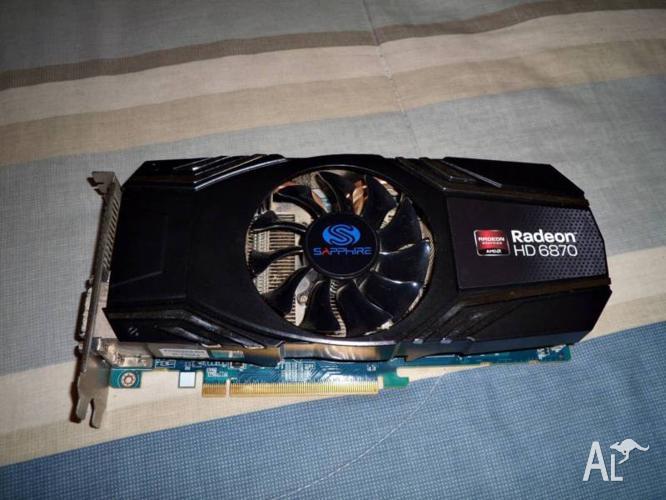 Sapphire AMD Radeon HD 6870 1gb graphics card