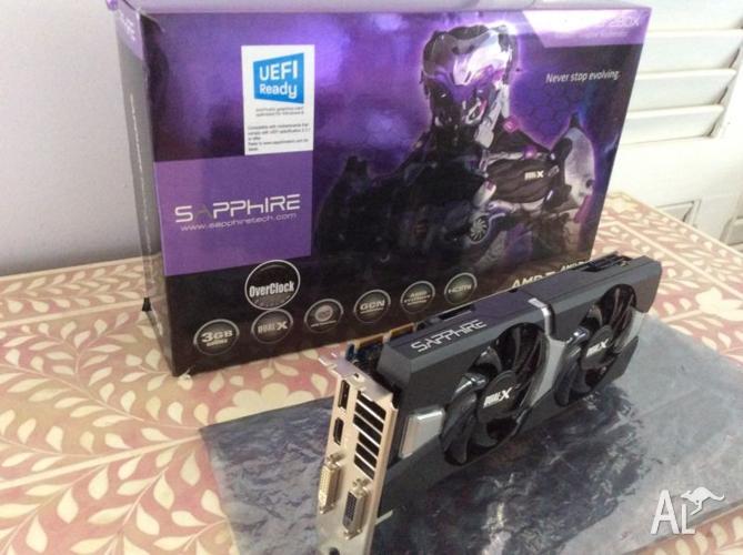 Sapphire Dual X R9 280X OC Video Card 3gb Vram