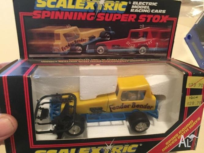 Scalextric cars swap for kayak