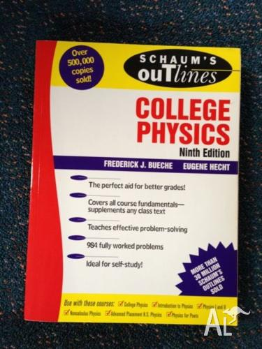 Schaum's Outline of College Physics Bueche Hecht Ninth Edition for