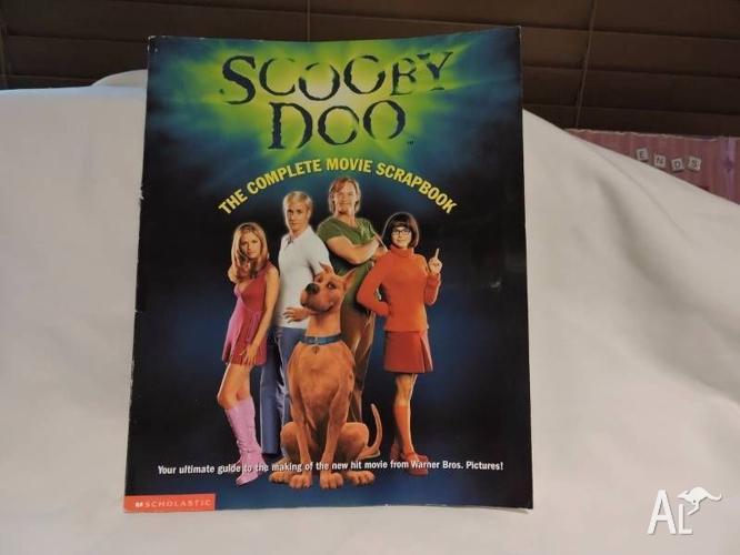SCOOBY DOO - COMPLETE MOVIE SCRAPBOOK - GREAT