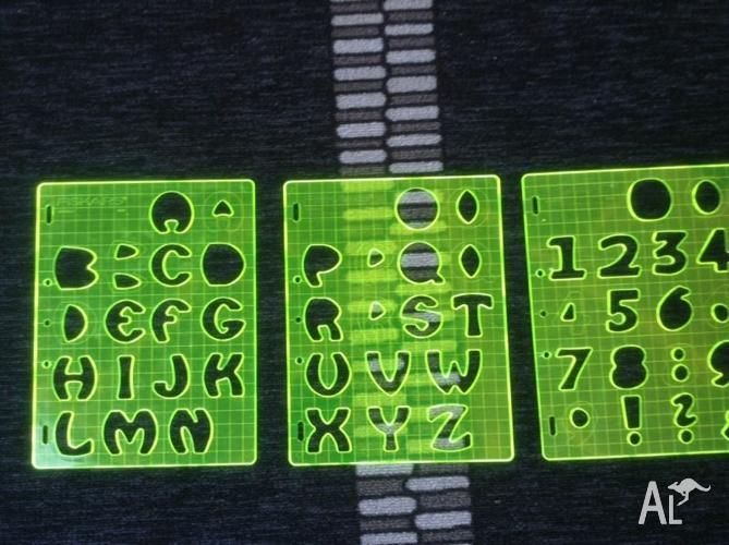 Scrapbooking....Fiskars Letters Set