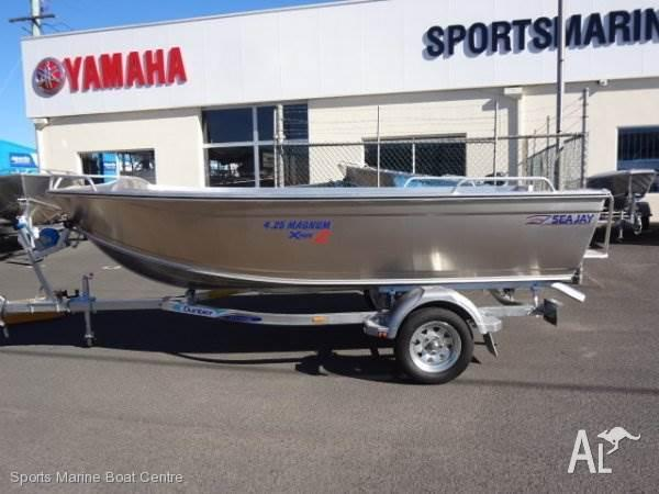 Sea Jay 4.25 Magnum Xpack 2 with 30hp Yamaha