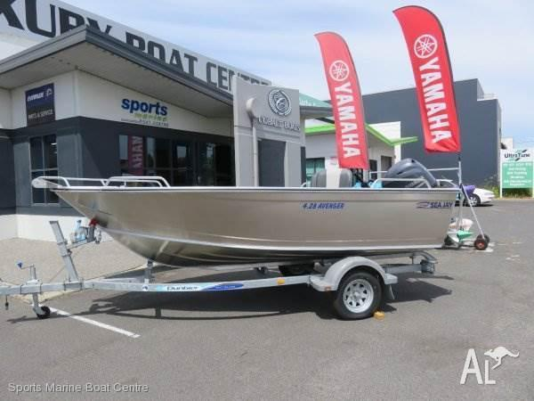 Sea Jay 4.28 Avenger with 50hp Yamaha 4 stroke