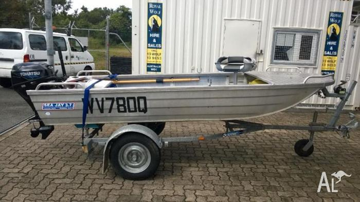 Seejay 3.7M Boat with 20HP 4 stroke Tohatsu