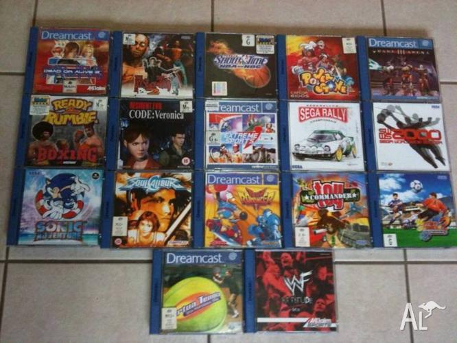 Sega Dreamcast Games RARE