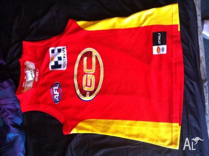 Selling Gold Coast suns jersey