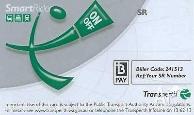 Selling my smart rider card