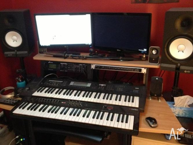Selling whole home recording studio yamaha hs80 etc for for Home with recording studio for sale