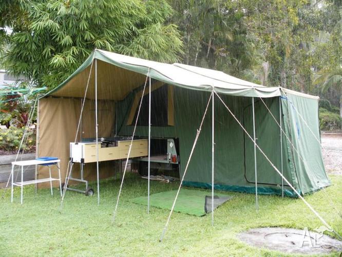 Semi Off Road Camper Trailer (7 x 4)