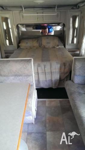 Semi off road pop top caravan