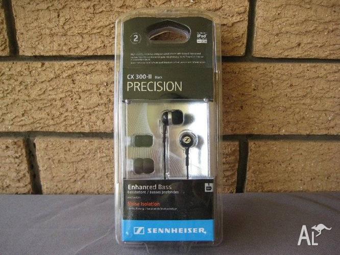 SENNHEISER CX300-II PRECISION EARPHONES - GENUINE -