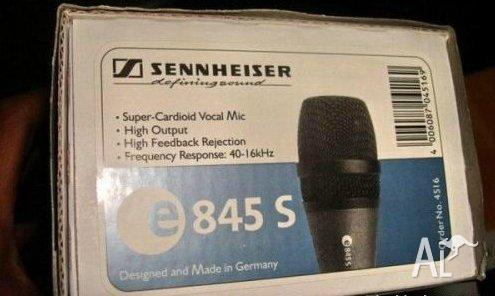 Sennhiser e845 Vocal microphone Made in Germany