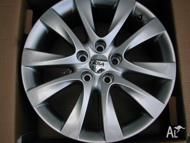 SET NEW 18 X 8 INCH ALLOYS SUIT FORD 5 X 114.3 STUD