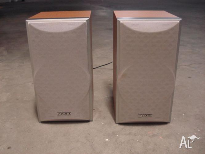 Sharp CP-S10H speakers
