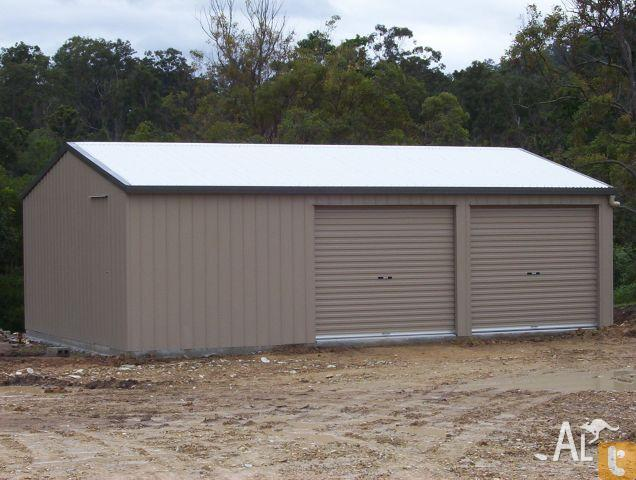 Sheds by the shed company garage 9x6 with work bay for for 3 bay shed