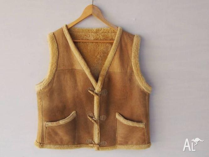 Sheep Skin Vest