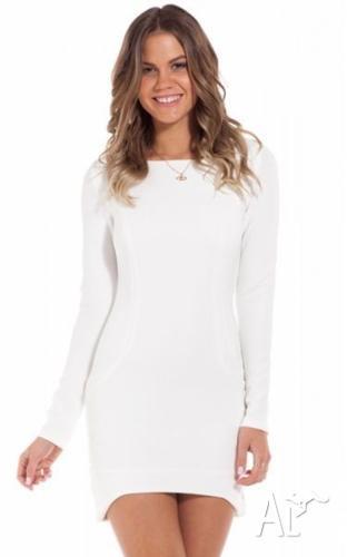 Showpo Dress - White size 6