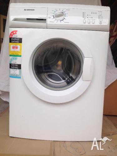 Simpson 7kg front load washing machine