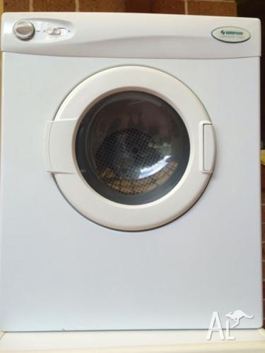 Simpson sirocco 3.5Kg dryer