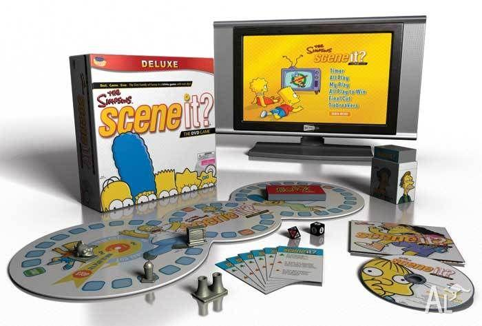 Simpsons Trivia Interactive Game