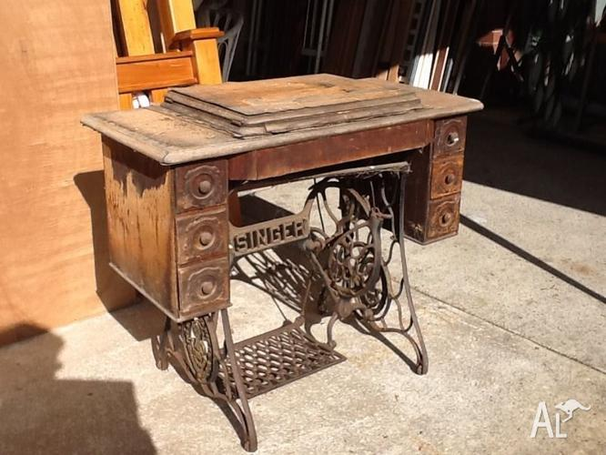 Singer Treadle Sewing Machine 40 For Sale In CLOVERDALE Western Fascinating Singer Sewing Machine Spare Parts Australia