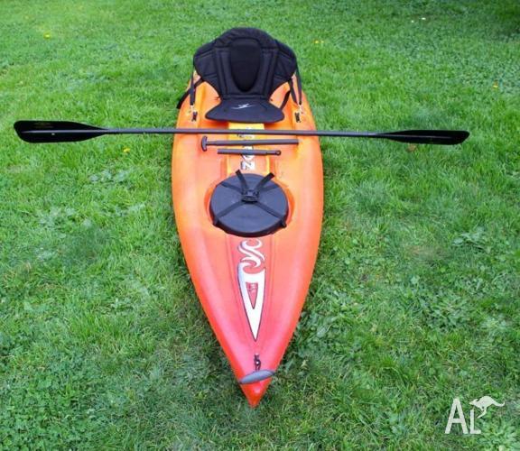 Sit on top kayak/sup hybrid