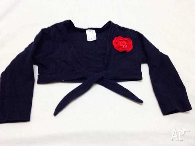 Size 2 tie front jacket