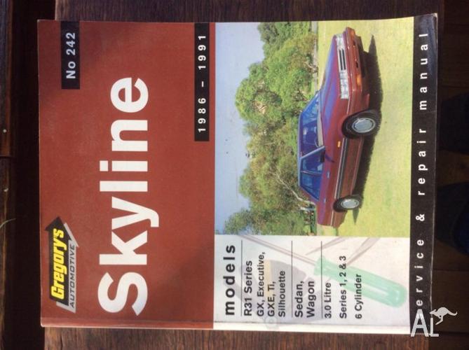 Skyline Nissan 1986/1991 workshop manual