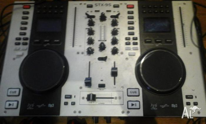 Skytec mixing board and XENYX802 preamp